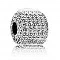 Pandora Pave Barrel clip Charms
