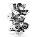 Pandora Prata Flor Spacer Charms