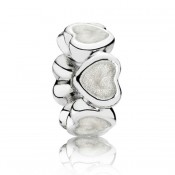 Pandora Prata abundância do amor Spacer Charms