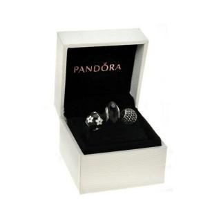 Pandora Preto faísca Charms Set