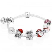 Pandora Pulseira Com Natal encantos especiais