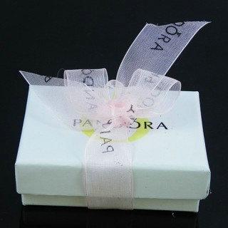 Pandora Rosa fita Joias Box
