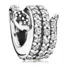 Pandora Sparkling Cobra com Clear Charms CZ
