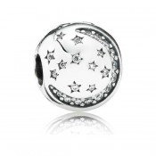 Pandora Twinkling Noite clip Charms