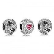 Pandora cativado pelo amor de Charms Set