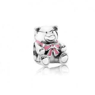 Pandora com esmalte Teddy Bear Charms