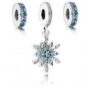 Pandora cristalizada Sky Charms Set