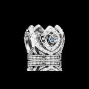 Pandora da Disney Elsa Coroa de Charms