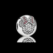 Pandora da Disney Minnie Pavé clipe Charms