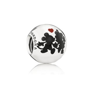 Pandora da Disney Minnie e Mickey para sempre Charms