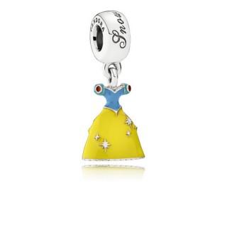 Pandora da Disney Neve Branco vestido Charms