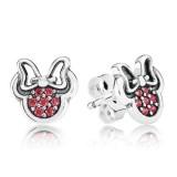 Pandora da Disney Sparkling Minnie Brincos