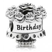 Pandora feliz aniversário Charms