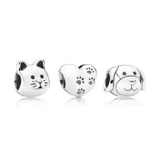 Pandora meu doce Animais Charms Set