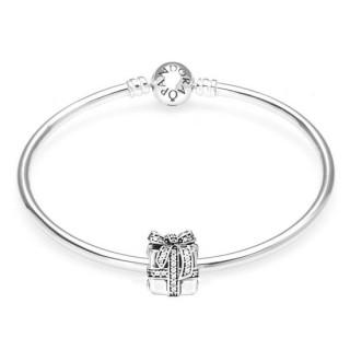 Pandora o presente perfeito do Prata Bangle